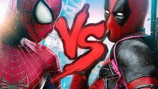 Deadpool VS. Homem-Aranha | Combate de Rimas | Part. Sennin
