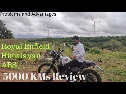 ROYAL ENFIELD HIMALAYAN ABS OWNERSHIP REVIEW -5000 KMS