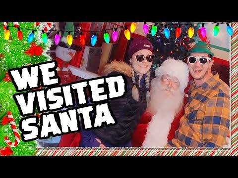🎅Asking Santa For More Subscribers! -  Man Vs Vacation #1