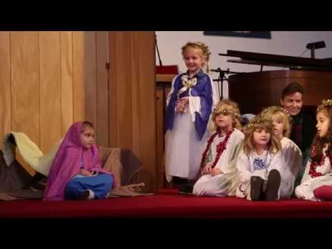 Community Christian Preschool - Christmas Program 2014