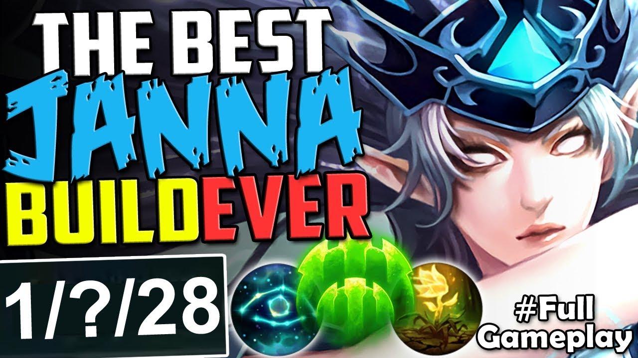 Best Janna Support Build