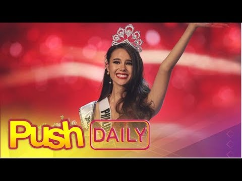 PUSH DAILY: Catriona Gray is Miss Universe 2018