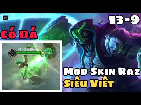 Mod Skin Raz Siêu Việt Mùa 15 Có Đá Âm Thanh Chuẩn Mới Nhất | Mod Skin Liên Quân Mobile | KuLBoy