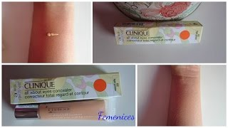 Resenha (Review) All about eyes concealer - corretivo clinique