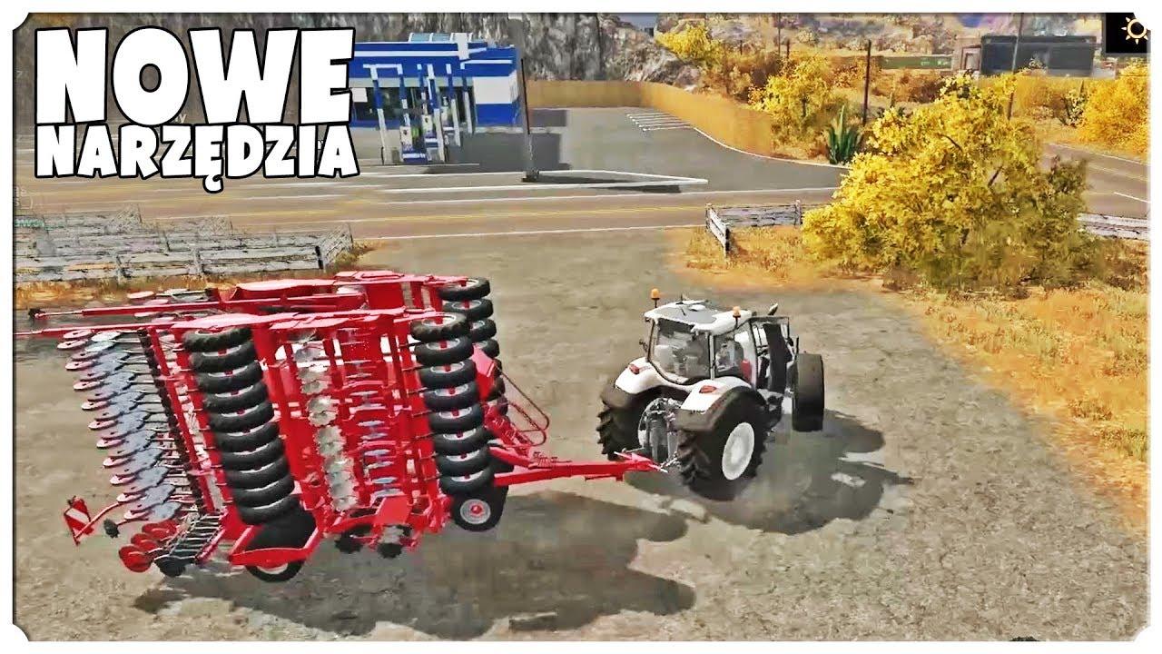 FARMING SIMULATOR 17 – NOWE NARZĘDZIA!