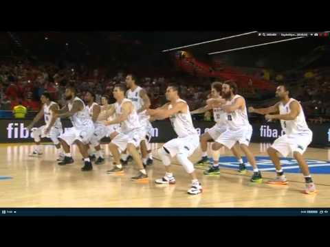 New Zealand vs Ukraine HAKA