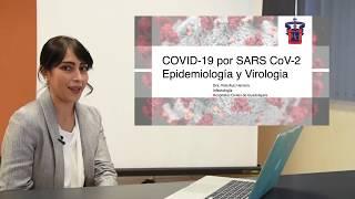 Epidemiología y virología de COVID-19 por SARS CoV-2