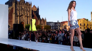 Fashion Show ... Rock the Sidewalk Runway Show, @Mexico City 2012.