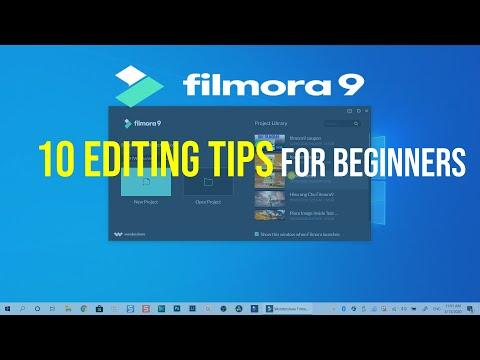 10 Video Editing Tips in Filmora9 For Beginners