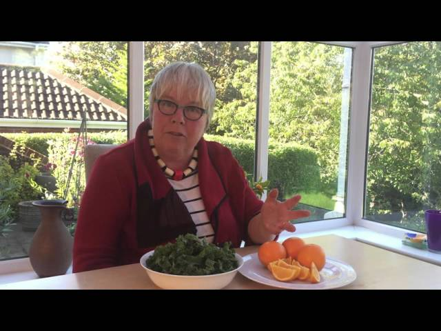 Video about cooking Kale with Citrus