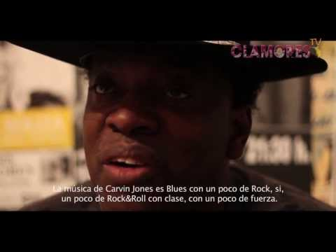 Carvin Jones live and report Clamores TV