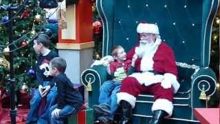 Pulling Santa