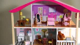 KidKraft Pastel Swivel Deluxe Dollhouse - Product Review Video