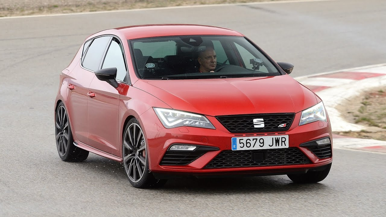 seat leon cupra 300 track test parcmotor castellol youtube. Black Bedroom Furniture Sets. Home Design Ideas