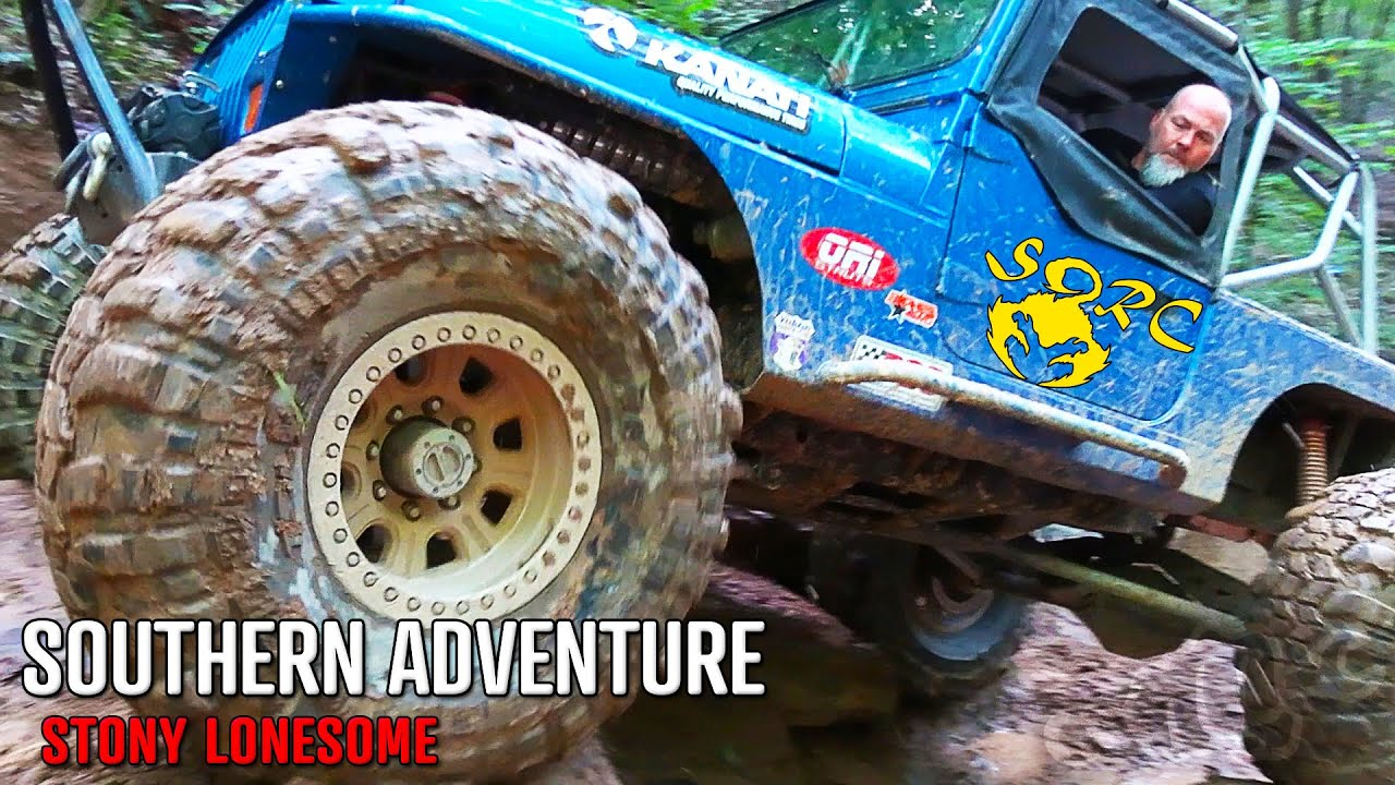 JEEP Trail Riding at Stony Lonesome OHV Park | TRR38