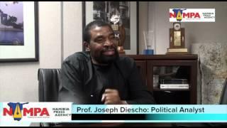 NAMPA: WHK Dr. Diescho on Namibian politics 14 Febr 2013.mov