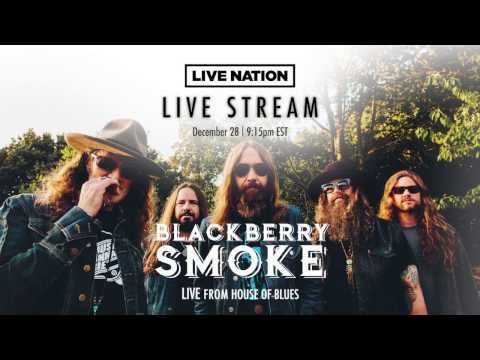 Watch a live stream with Blackberry Smoke on December 28th!