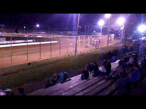 Heat 1 stock cars at //Mercer raceway park\\