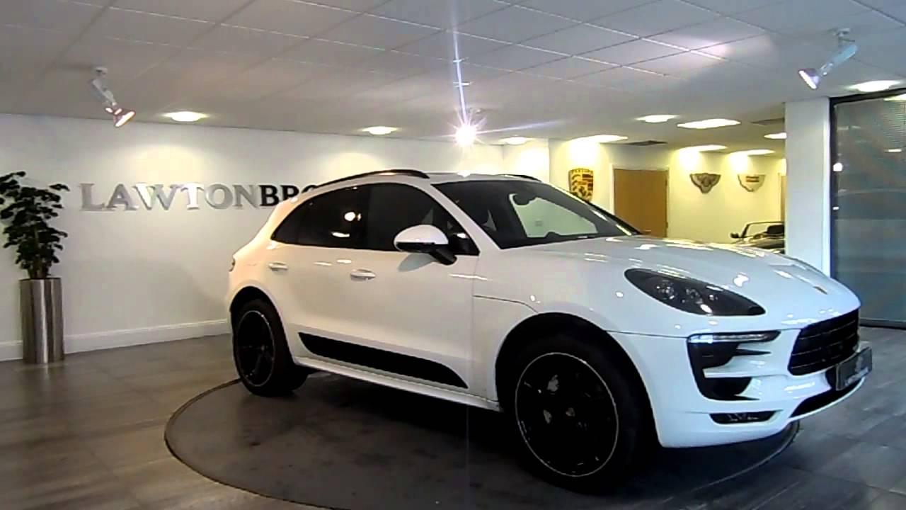 Porsche Macan S White Black Lawton Brook Youtube