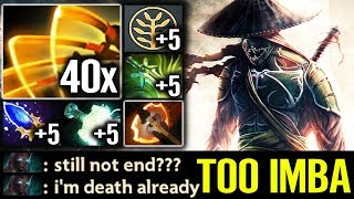 This is Juggernaut 2019 Best Build - Dota 2 best Trick Omnislash 7.20 Gameplay