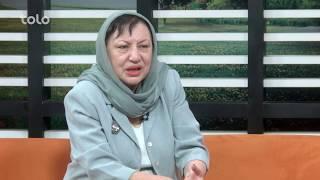 بامدادخوش - سخن زن - خانم نقشین ابوبکر (مبارز حقوق زن و نویسنده) دررابطه به حقوق زن صحبت میکند