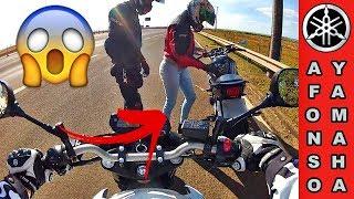 XJ6 # As Mina de Moto Tocando o Terror