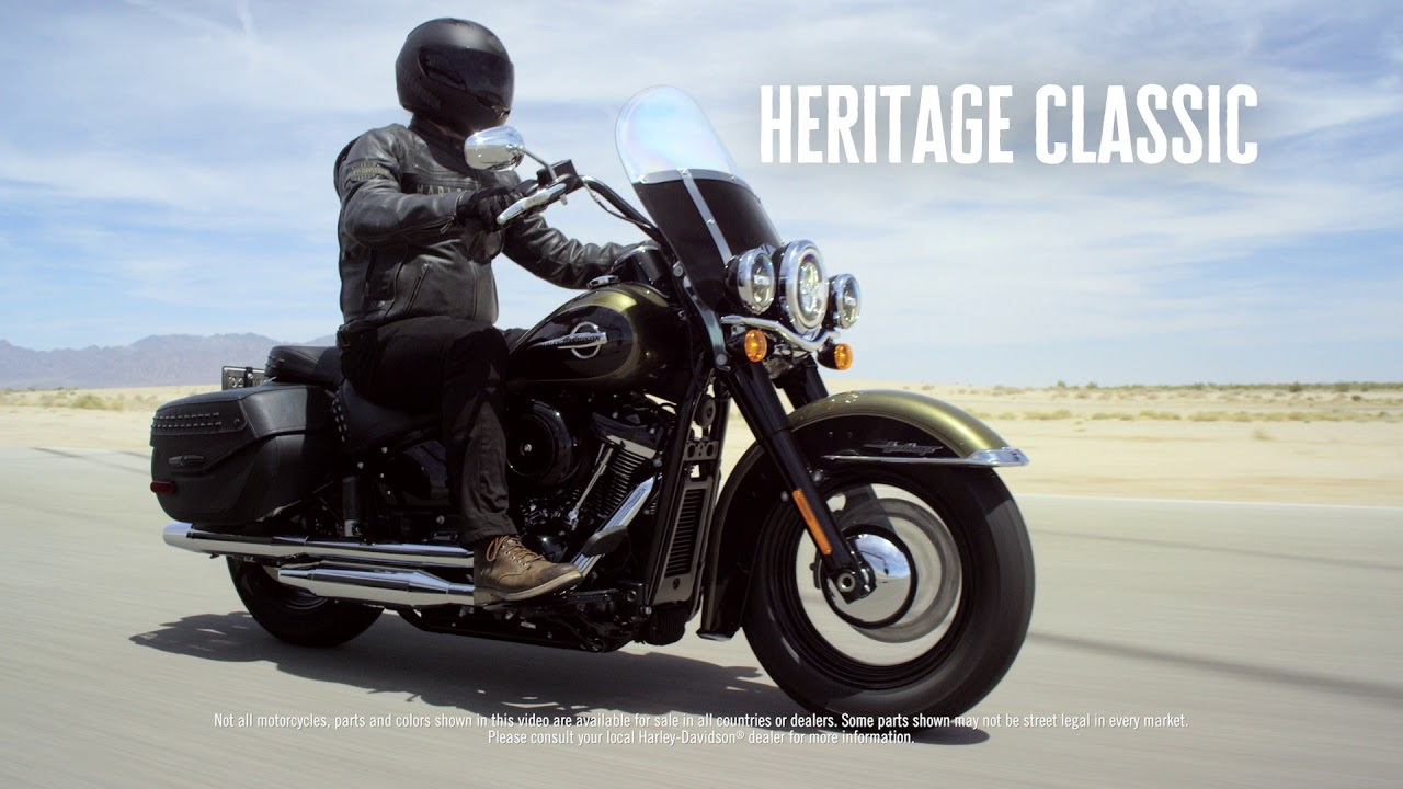 2018 Harley-Davidson Softail Range Line-up - YouTube