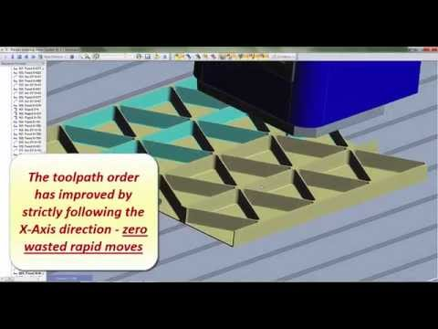 Machining Order - Edgecam 2015 R1 CAD-CAM
