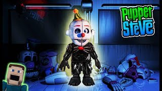Fnaf Mcfarlane Toys Five Nights at Freddy's Wave 4 ENNARD Scooping Room & Private Room SDCC reveal