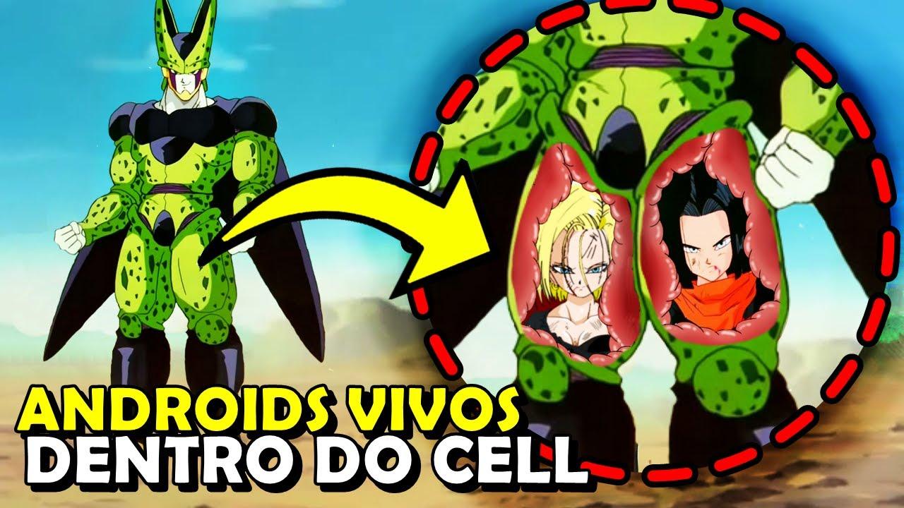 7 fatos OBSCUROS sobre os ANDROIDS em Dragon Ball Z