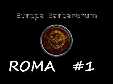 Europa Barbarorum Campaña Romana #1    Roma Vs Epiro