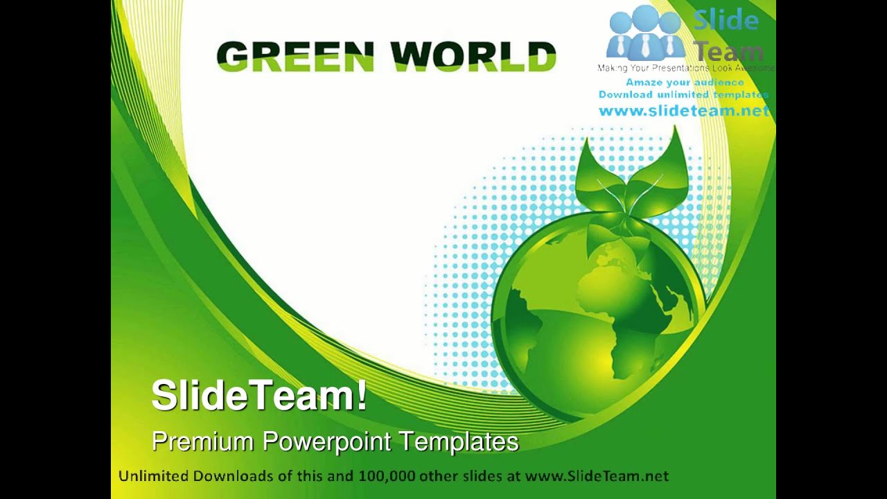 Green earth concept environment powerpoint templates themes and green earth concept environment powerpoint templates themes and backgrounds ppt layouts youtube toneelgroepblik Images