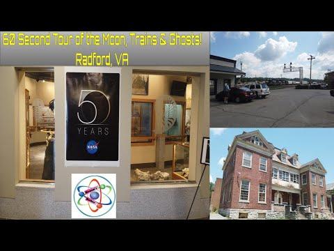 60 Second Tour Radford Virginia Around Town