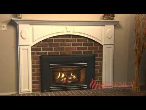 Regency U31 Gas Fireplace Insert Youtube