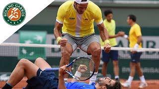 Lopez/Lopez v Bryan/Bryan Highlights - Men's Doubles Final 2016 | Roland-Garros