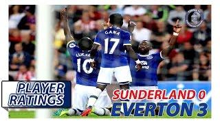 Sunderland 0-3 Everton | EFC Player Ratings