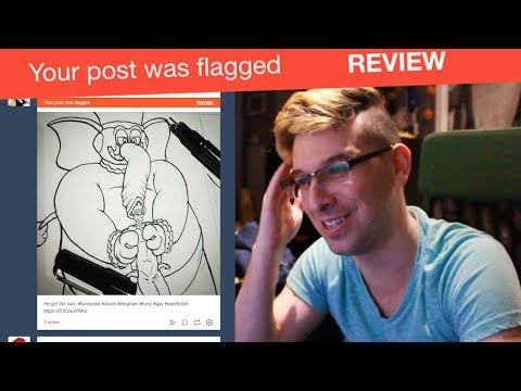 Your Post Was Flagged On Tumblr | NSFW Gay Comics