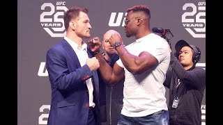 Ufc 220 Press Conference Highlights  Miocic