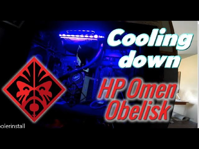 Install Intel Bxts13x Cpu Cooler Hp Omen Obelisk What A
