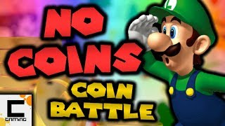 Can you beat Coin Battle in New Super Mario Bros. Wii WITHOUT COINS? ft. Ceave Gaming