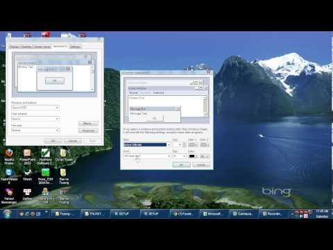 Hướng dẫn cài đặt bộ phần mềm Hài Hòa (HS, Topo, Nova....), sửa font trong Winxp
