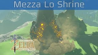 The Legend of Zelda: Breath of the Wild - Mezza Lo Shrine Walkthrough [HD 1080P]