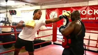 HOLD THAT!!  BODY PUNCHING  TURNED INTO ANTHONY YARDE VS BIG ADE!!