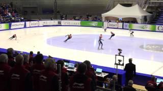 2016-17 ISU WC1 Calgary Ladies 3000m Relay - Heats - Heat 3