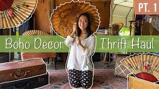 Thrifting For Boho Wedding Decor | HAUL