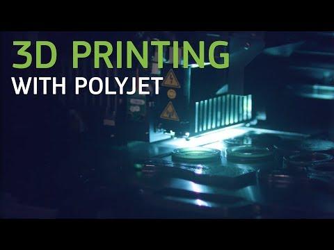 3D Printing With PolyJet