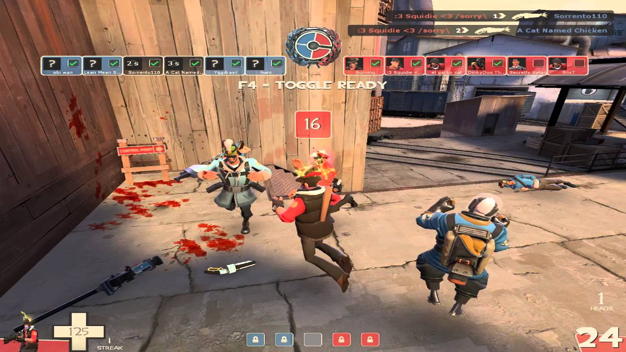 team fortress matchmaking The goal of the previous change was to require players to commit to this item in order to gain the extra jump tf2 is not a game that is played matchmaking team fortress 2 all the time like cs go is.