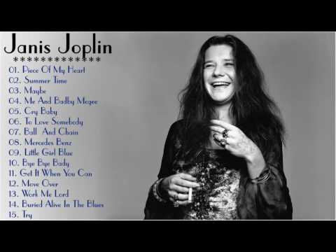 Janis Joplin Greatest Hits  The Best Janis Joplin Playlist!! (HD)