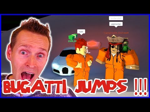 BEST BUGATTI JUMP EVER!!! with CAPTAIN JACK