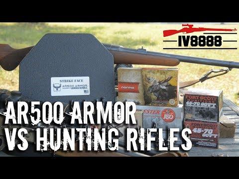 AR500 Armor vs Hunting Rifles